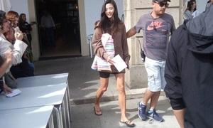 Jun Ji Hyun lộ chân gân guốc, thiếu sức sống trên phim trường