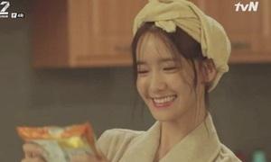 Cảnh Yoon Ah ăn mỳ tôm đạt rating cao nhất trong 'The K2'