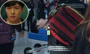 Lay EXO ngất xỉu, mất ý thức ở sân bay