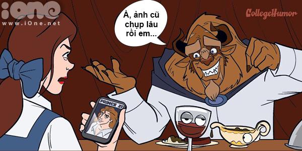 Thế giới Disney hỗn loạn khi có smartphone, Facebook