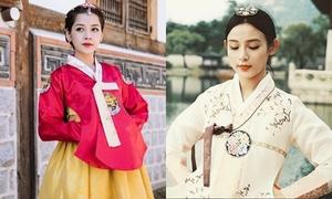 5 hot girl Việt diện hanbok xinh không kém thiếu nữ Hàn
