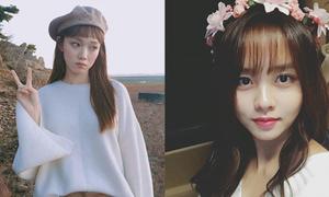 Sao Hàn 16/10: Kim So Hyun đội vòng hoa xinh yêu, AOA khoe chân thon