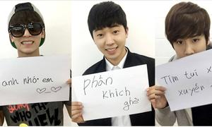 Những lần sao Kpop khiến fan Việt 'sướng rơn' khi tập tành tiếng Việt
