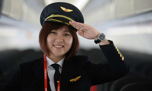 Cô gái Sài thành trở thành nữ phi công trẻ tuổi nhất Việt Nam