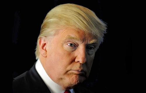 Mái tóc là điểm nhấn đặc biệt của Donald Trump