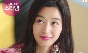 Jun Ji Hyun đóng phim gì cũng gây sốt màu son