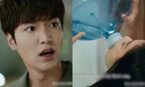 Lee Min Ho muối mặt vì 'nàng tiên cá' Jun Ji Hyun