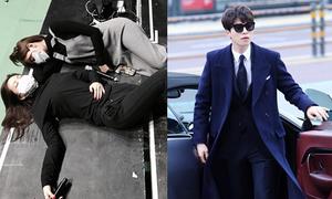 Sao Hàn 17/12: 'Thần chết' Lee Dong Wook siêu bảnh, Na Eun mệt nằm lăn ra sàn
