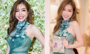 Elly Trần bị soi mặt sưng, khác ảnh 'tự chụp'
