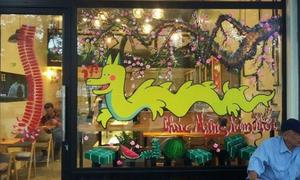 Cửa hàng vẽ hình 'rồng Pikachu' ở Hải Phòng