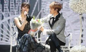Baek Hyun - Suzy đẹp đôi như hoàng tử, công chúa khi song ca