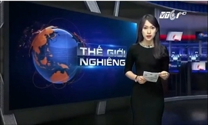 Nữ sinh 'nhại' 7 thứ tiếng trở thành MC Thời sự quốc tế