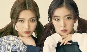 Red Velvet hút hồn với style nữ sinh trên tạp chí