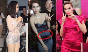 Hình ảnh 'bụng trống' khiến các mỹ nhân Việt không dám nhìn lại
