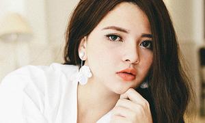 Em gái xinh như búp bê Tây của hoa hậu Trần Thị Quỳnh
