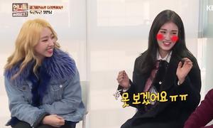 Minzy, Somi hát hit 'Lonely' của 2NE1 trên show truyền hình