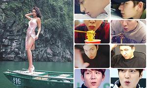 Sao Việt 11/2: Minh Tú sexy giữa trời 14 độ, Kelvin Khánh được ví là 'Lý Miệng Hôi'