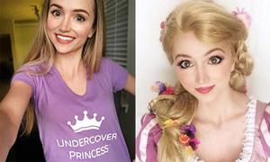 Cô gái chi hơn 300 triệu đồng hóa thân thành các công chúa Disney