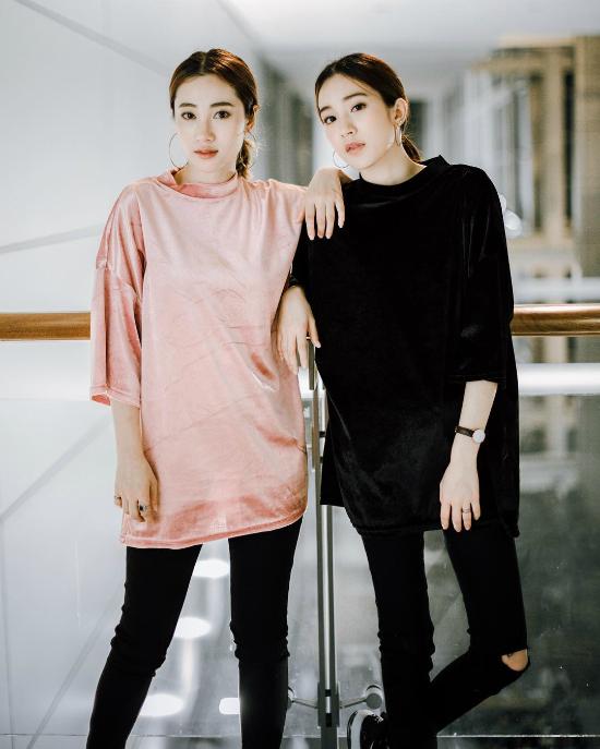 Mốt áo nhung ngắn tay hot rần rần từ Thái sang Việt