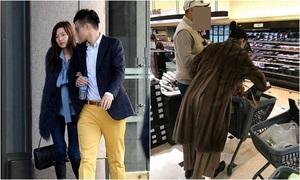 Jun Ji Hyun gây tranh cãi khi mặc áo lông thú đi siêu thị cùng chồng