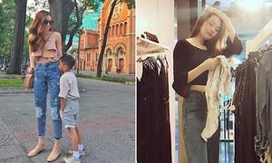Sao Việt 20/2: Subeo chân dài không kém mẹ, Linh Chi bình thản khi bị tố là 'người thứ 3'