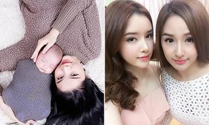 Sao Việt 21/2: Con trai Kỳ Hân như 'cục kẹo', em gái Mai Phương Thúy xinh hơn chị