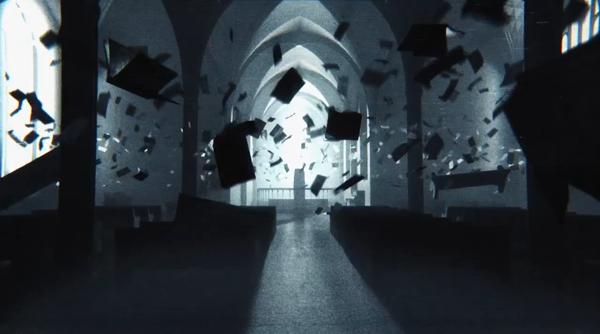 Những khung hình không thể lí giải nhưng đầy ám ảnh trong đoạn phim nguyền rủa.