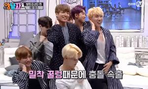 BTS chen chúc nhảy trên sân khấu 3 m2