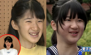 Công chúa Nhật Bản ngày một mảnh mai