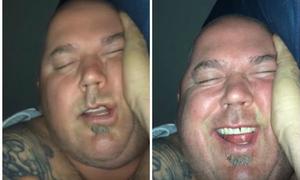 Bị chồng đánh thức giữa đêm, cô vợ quay video tung lên mạng