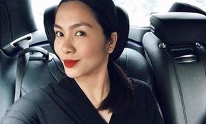 'Chiêu' giấu bụng bầu tài tình của Tăng Thanh Hà