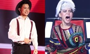 Giọng ca phi giới tính khiến Thu Minh gào thét sung sướng tại 'Giọng hát Việt'