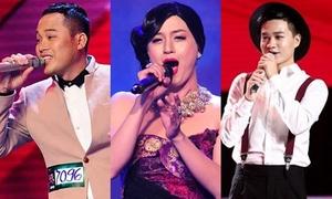 Những giọng ca phi giới tính gây chú ý tại show truyền hình Việt