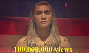 Sơn Tùng M-TP phá vỡ kỷ lục khi 'Lạc trôi' cán mốc 100 triệu lượt xem