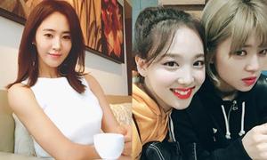 Sao Hàn 12/3: Yuri mặt xinh dáng đẹp, Na Yeon cười khoe răng thỏ cute