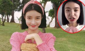 Nhan sắc thật gây 'vỡ mộng' của các hot girl mạng Trung Quốc