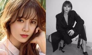 Sao Hàn 26/3: Goo Hye Sun xinh như nữ thần, CL ngồi dáng đàn ông