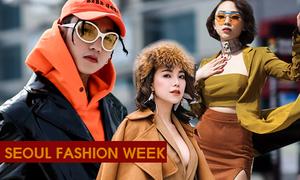 Sao Việt khoe style chất chẳng kém fashionista Hàn