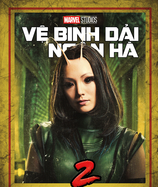 Mantis là siêu anh hùng gốc Việt có khả năng đọc suy nghĩ, chữa thương.