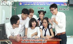 Lớp học bá đạo (2): Đừng bao giờ hỏi đố học sinh