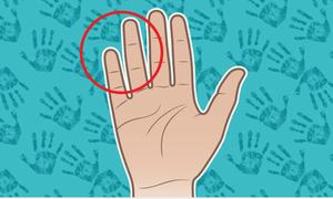 Độ dài ngón tay út nói lên điều gì về bạn?