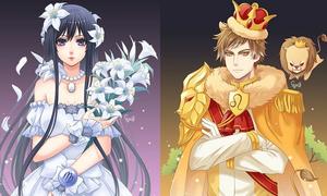 12 cung hoàng đạo trông như thế nào khi bước vào thế giới manga?