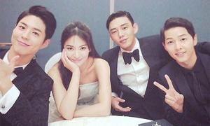 Hội bạn thân toàn trai đẹp, gái xinh của Song Joong Ki – Song Hye Kyo