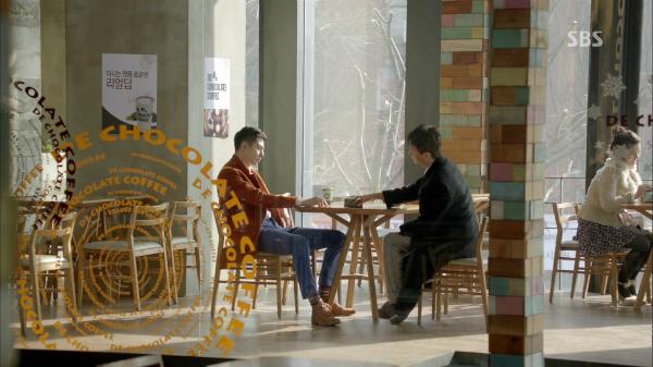 Một quán cà phê trong bộ phim Ngọn gió đông năm ấy.