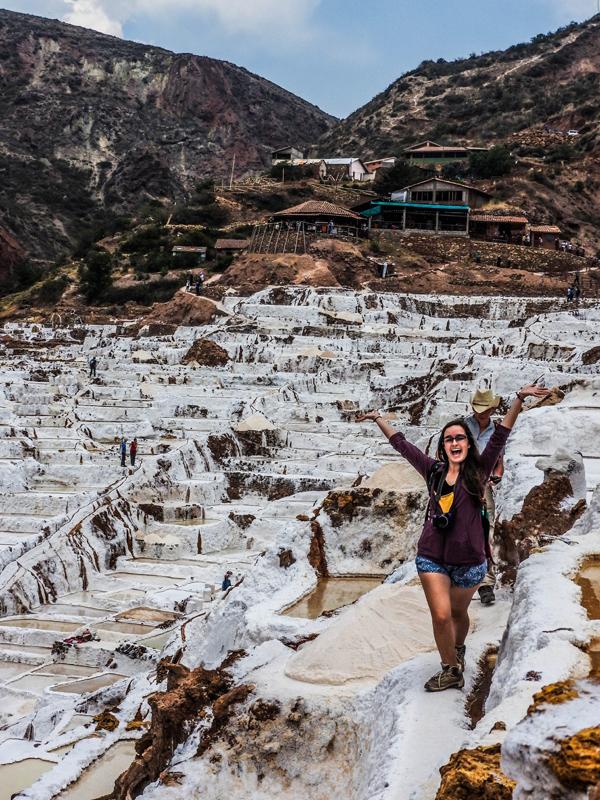 Chụp ảnh 'sống ảo' cực chất ở cánh đồng muối bậc thang đẹp quá sức tưởng tượng