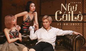 Sau 'Ghen', Min và Erik tái hợp trong MV tên lạ 'Như cái lò'