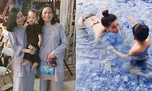 Sao Việt 2/9: Ba mẹ con Ly Kute 'đẹp đều', Hà Hồ đi Đà Nẵng với Kim Lý
