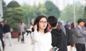 Những cô bạn nổi bật tại buổi giao lưu với Jack Ma