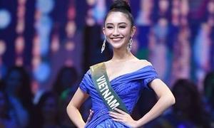 NTK Mỹ chọn đầm dạ hội của Hà Thu đẹp nhất chung kết Miss Earth