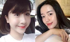 3 hot girl Việt có da mộc căng bóng chẳng kém con gái Hàn